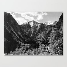 Paradise Valley, Kings River Canyon Canvas Print