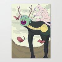 Cervinia Canvas Print