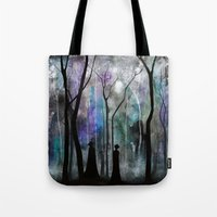 Haunted Forest Tote Bag