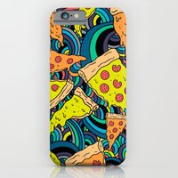 Pizza Meditation iPhone 6 Slim Case