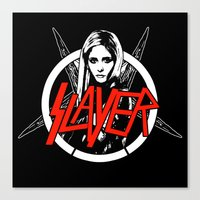 Vampire Slayer Canvas Print