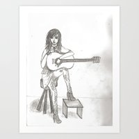 Now If Only I Could Play… Art Print