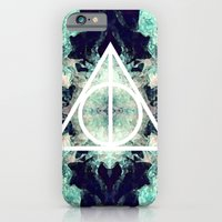 iPhone & iPod Case featuring Deathly Hallows by Christine DeLong Creative Studio