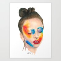 Make 'em Touch Art Print
