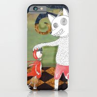 iPhone & iPod Case featuring Little Red Riding Hood II by Duru Eksioglu