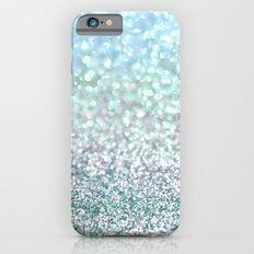 Blue Mist Snowfall iPhone 6 Slim Case