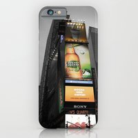 iPhone & iPod Case featuring Times Square by Pepe Rodriguez