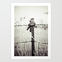 Farm Hands Art Print