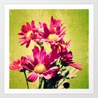 Flower series 02 Art Print