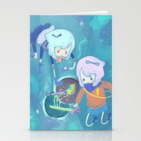 Double Trouble Stationery Cards