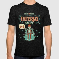 Inferno Mens Fitted Tee Tri-Black SMALL