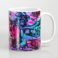 Objects Floating in Aurora2 Mug