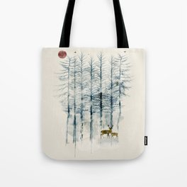 Tote Bag - the blue forest - bri.buckley