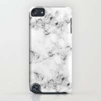iPod Touch Cases featuring Real Marble  by Grace