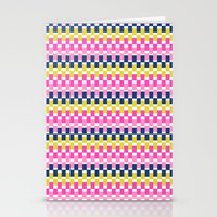 COLOURFUL BLOCKS Stationery Cards