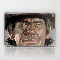 Harmonica Man Laptop & iPad Skin
