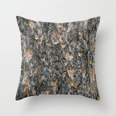 Tree Bark 1.0 Throw Pillow