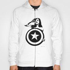 Captain Girl America Hoody