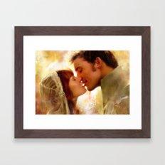 A Wedding Framed Art Print