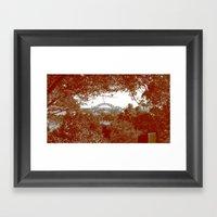 Harbour Bridge Through T… Framed Art Print