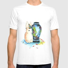 Lapin Chinoiserie SMALL White Mens Fitted Tee