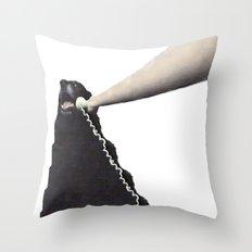 PHONE DOG Throw Pillow