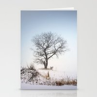 Winter Landscape Stationery Cards