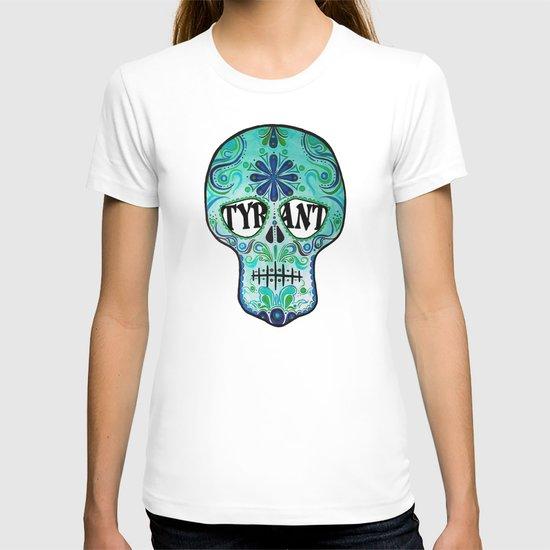 """TYRANT """"Sugar Skull"""" T-shirt"""