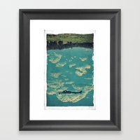 Recycling Air Framed Art Print