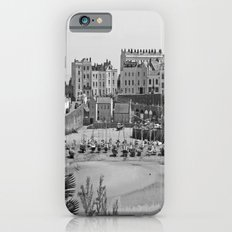 Tenby Harbour. Black+White. Reflection. iPhone 6s Slim Case