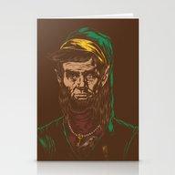 Abraham LINKoln Stationery Cards