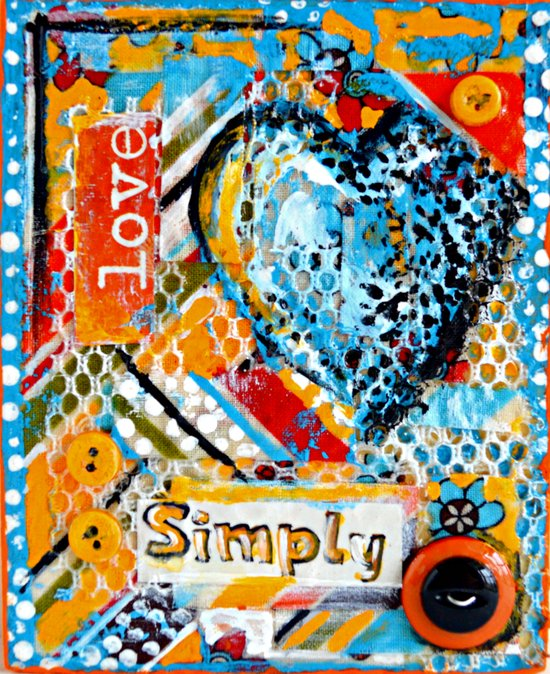 Love, Simply... Art Print