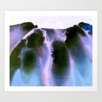Rainbow Falls Art Print