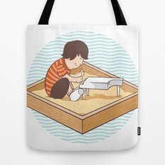 Brian's Sandbox Tote Bag
