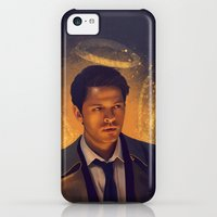 iPhone 5c Cases featuring Castiel - Supernatural by KanaHyde
