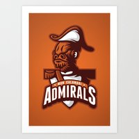 Mon Calamari Admirals On… Art Print