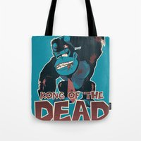Kong Of The Dead Tote Bag