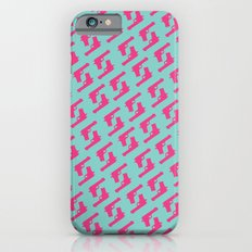 Mint and pink guns Slim Case iPhone 6s