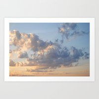 Florida Clouds Art Print