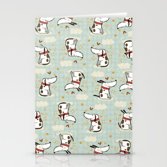 DOGGY IN THE SKY Stationery Card