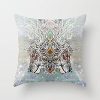 Tribal°Soul^ Throw Pillow