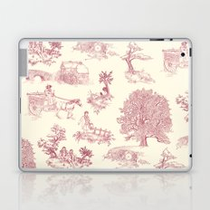 Shire Toile - Red Laptop & iPad Skin