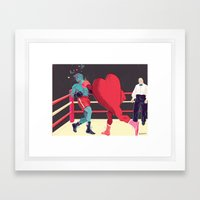 Punch Drunk Love Framed Art Print