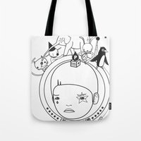 I WAS IN WONDERLAND Tote Bag