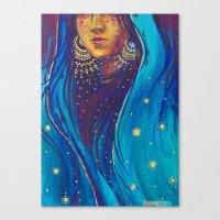 A Mystic Canvas Print