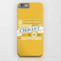 Philippians 4:13 iPhone 6 Slim Case