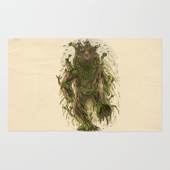 Treebear Area & Throw Rug