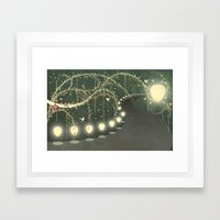 Guiding Lights Framed Art Print
