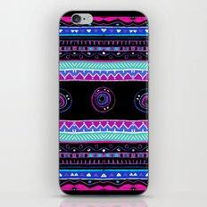 Purple Pattern iPhone & iPod Skin