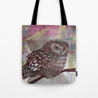 Bird Screenprint Tote Bag